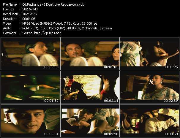 Pachanga video screenshot