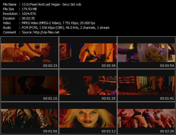 Dj Pearl And Last Vegas video screenshot