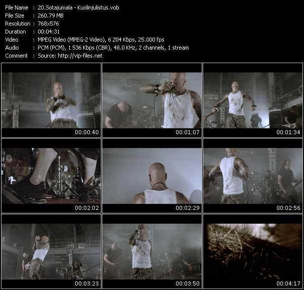Sotajumala video screenshot