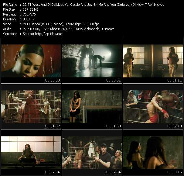 Till West And Dj Delicious Vs. Cassie And Jay-Z video screenshot