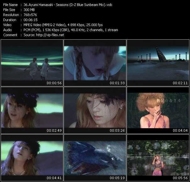 Ayumi Hamasaki video screenshot