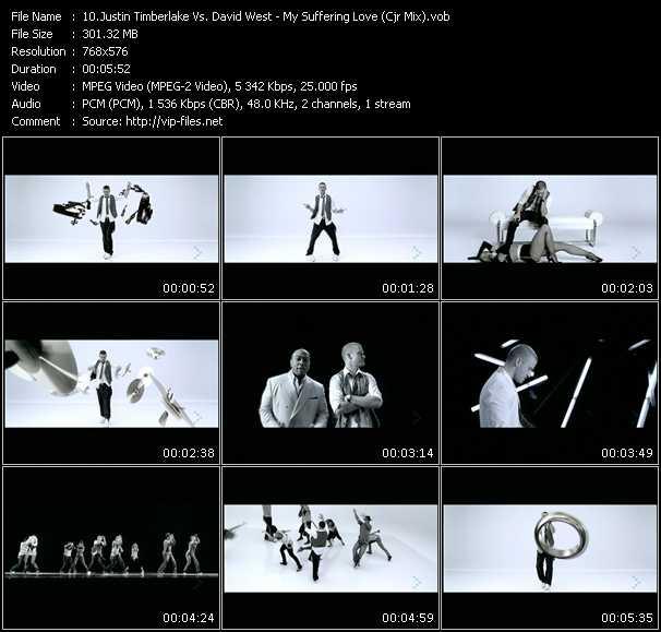 Justin Timberlake Vs. David West video screenshot