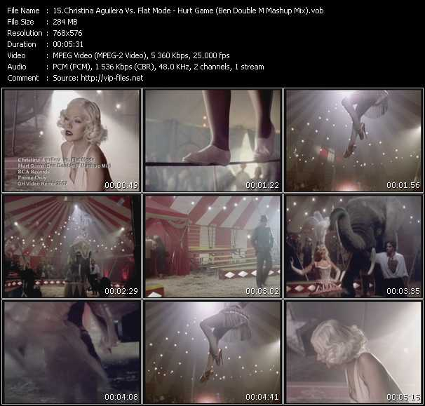 Christina Aguilera Vs. Flat Mode video screenshot