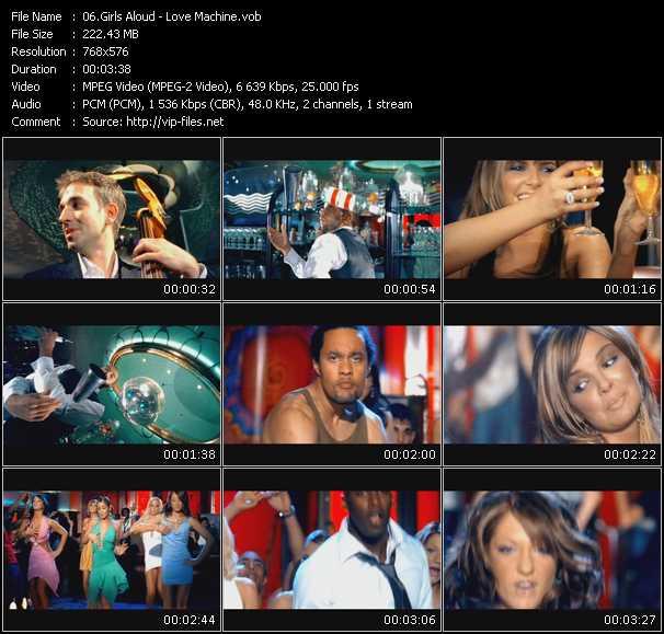 video Love Machine screen