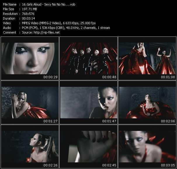 video Sexy! No No No... screen
