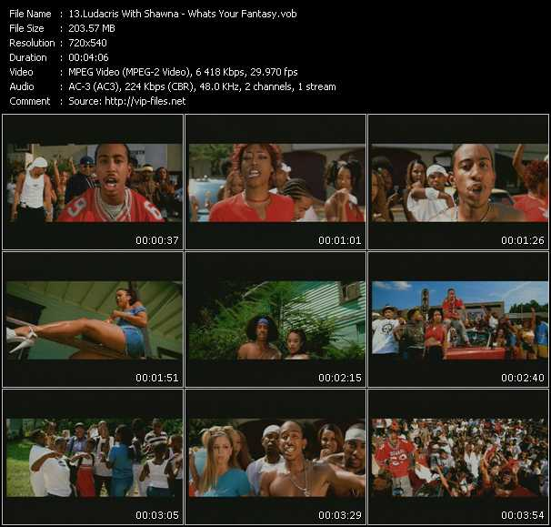 Ludacris With Shawna video screenshot