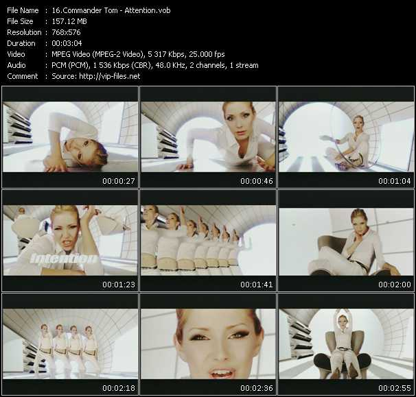 Commander Tom video screenshot