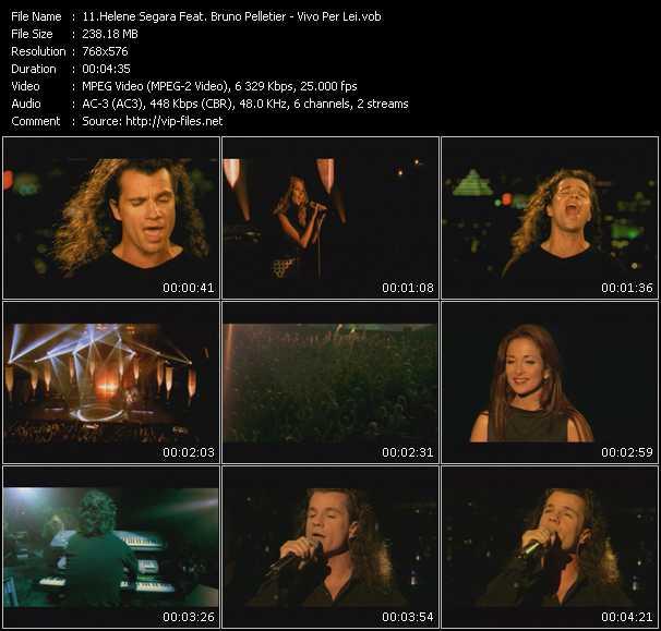 Helene Segara Feat. Bruno Pelletier video screenshot