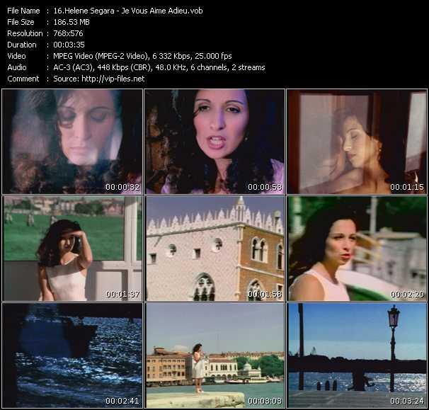 Helene Segara video screenshot