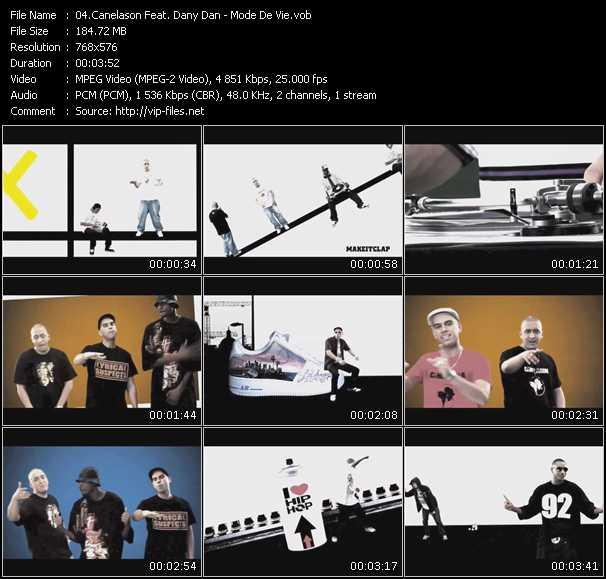 Canelason Feat. Dany Dan video screenshot