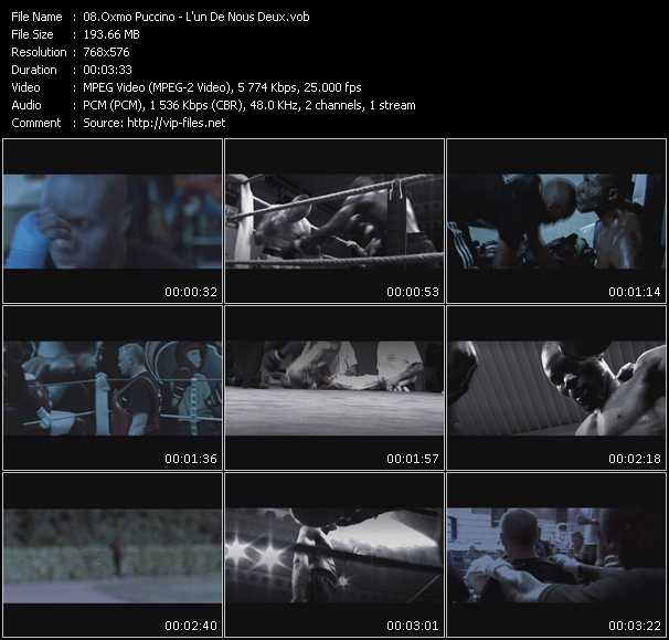 Oxmo Puccino video screenshot