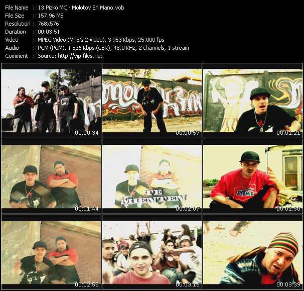 Pizko MC video screenshot
