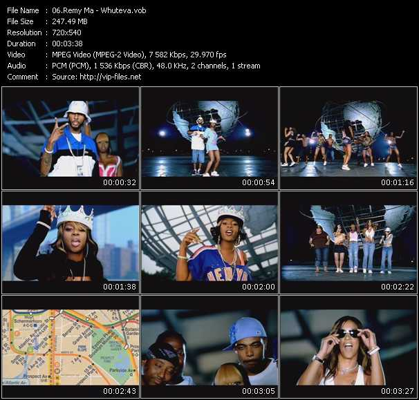 Remy Ma video screenshot