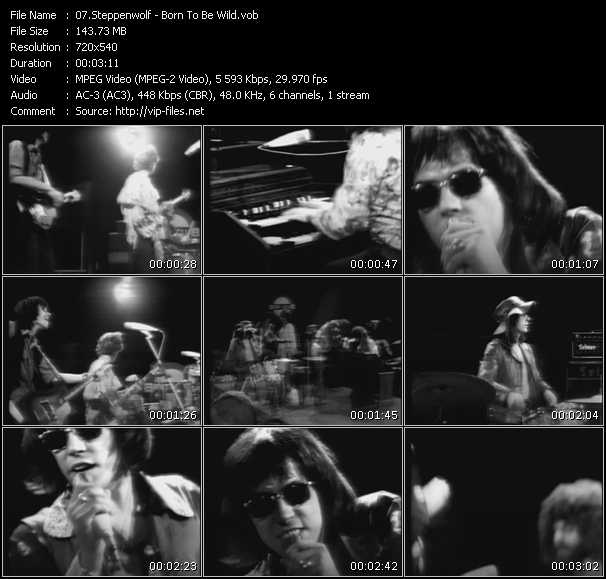 Steppenwolf video screenshot