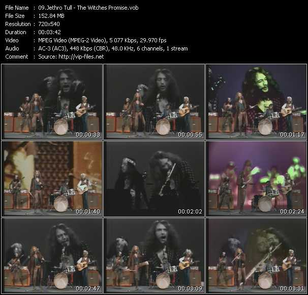 Jethro Tull video screenshot