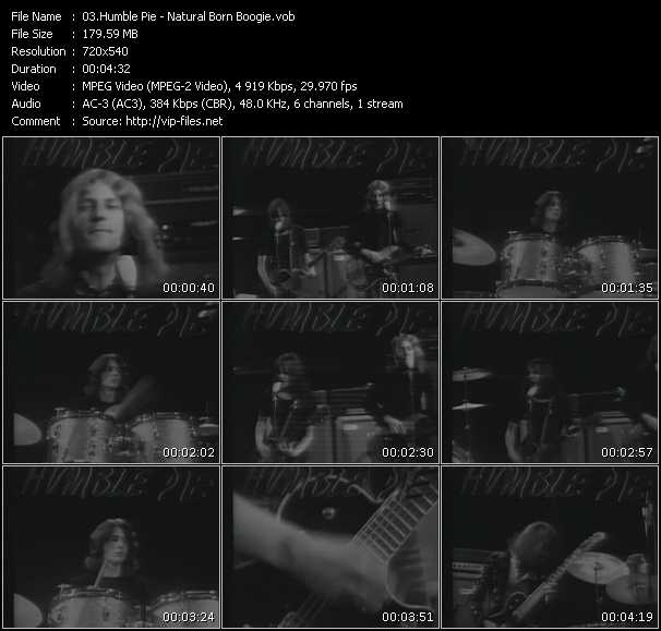 Humble Pie video screenshot