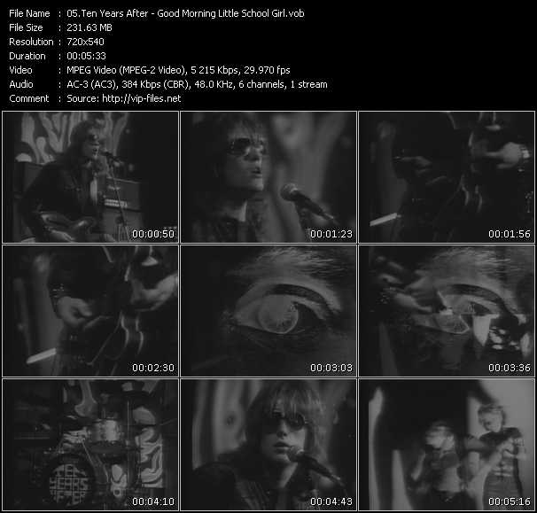 Ten Years After video screenshot