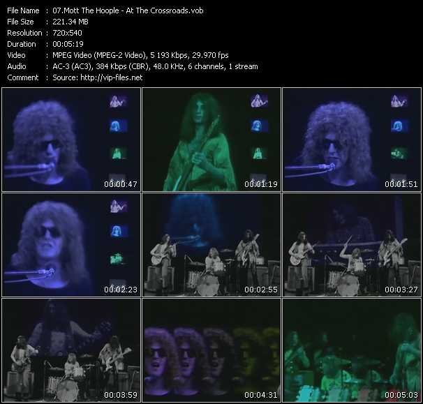 Mott The Hoople video screenshot