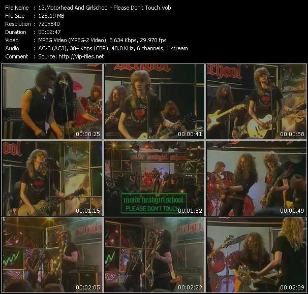 Motorhead And Girlschool video screenshot