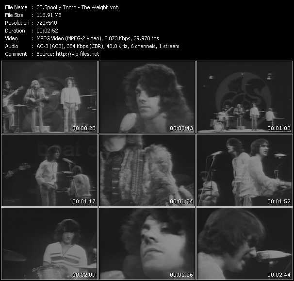 Spooky Tooth video screenshot