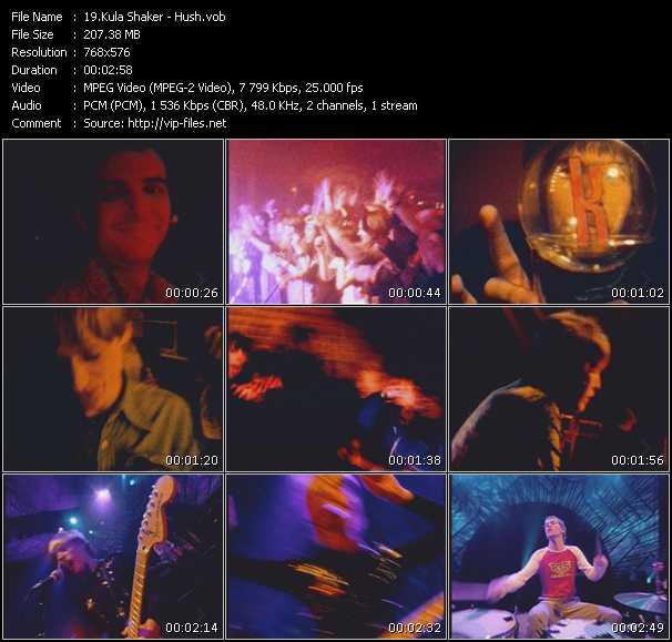 Kula Shaker video screenshot