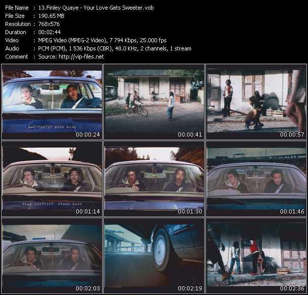 Finley Quaye video screenshot
