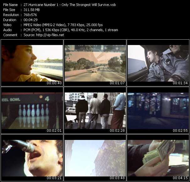 Hurricane Number 1 video screenshot