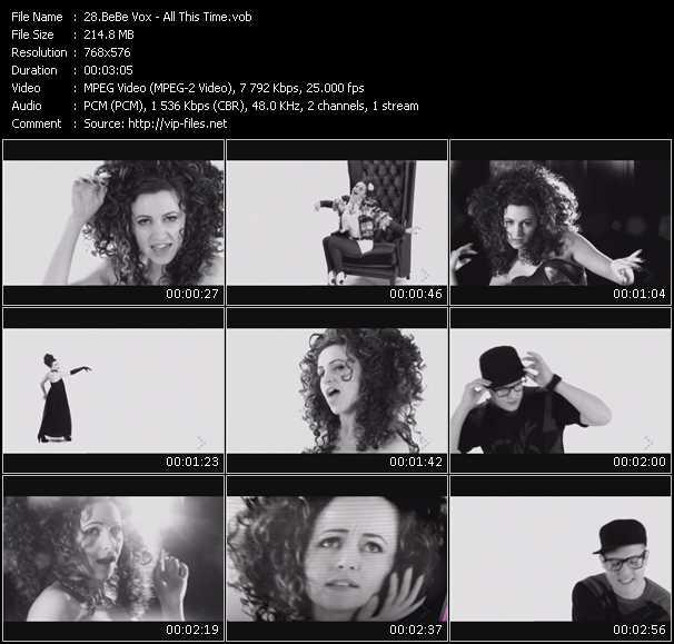 BeBe Vox video screenshot