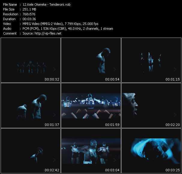 Kele Okereke video screenshot
