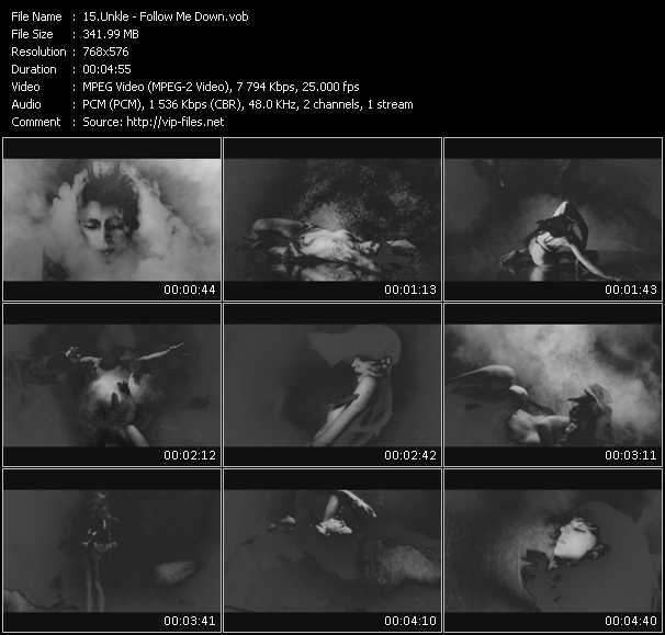 Unkle video screenshot