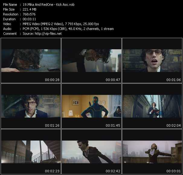 Mika And RedOne video screenshot