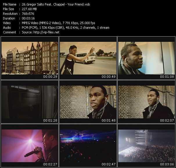 Gregor Salto Feat. Chappel video screenshot