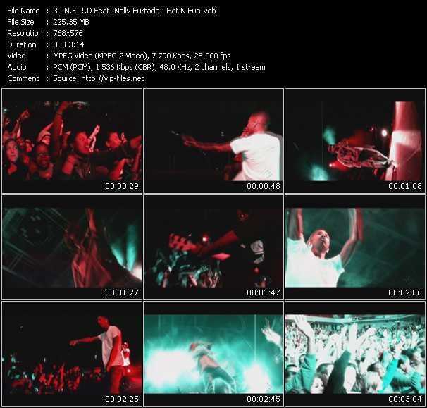 N.E.R.D. Feat. Nelly Furtado video screenshot