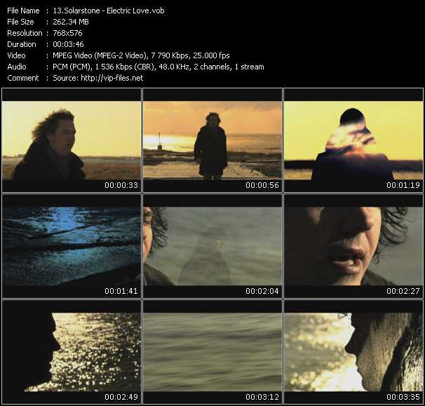 Solarstone video screenshot