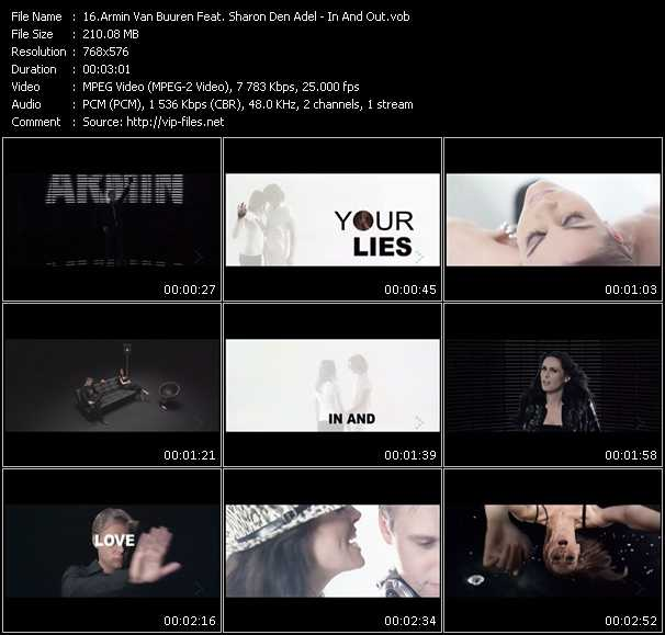 Armin Van Buuren Feat. Sharon Den Adel video screenshot