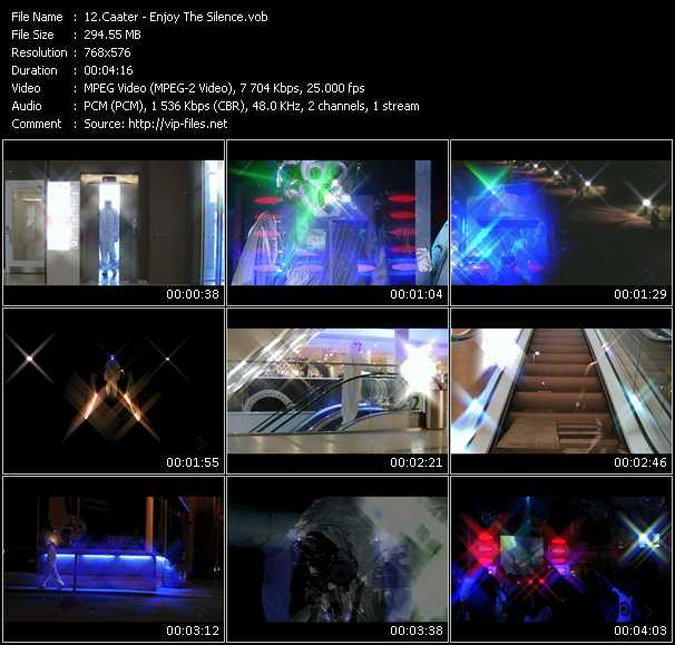 Caater video screenshot