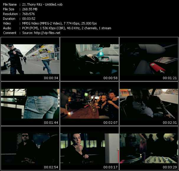 Thony Ritz video screenshot