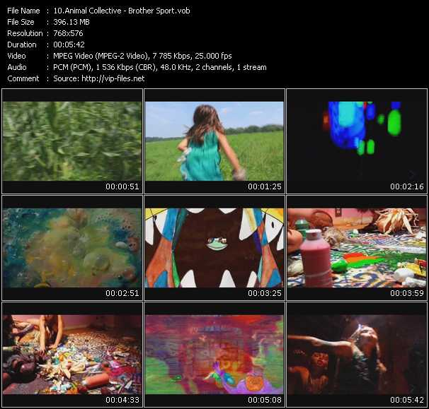 Animal Collective video screenshot