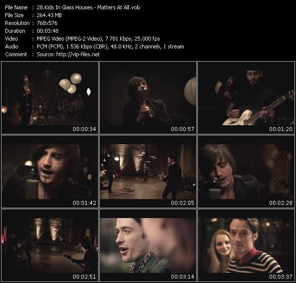 Kids In Glass Houses video screenshot