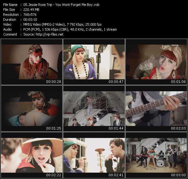 Jessie Rose Trip video screenshot
