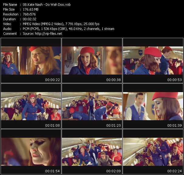 Kate Nash video screenshot