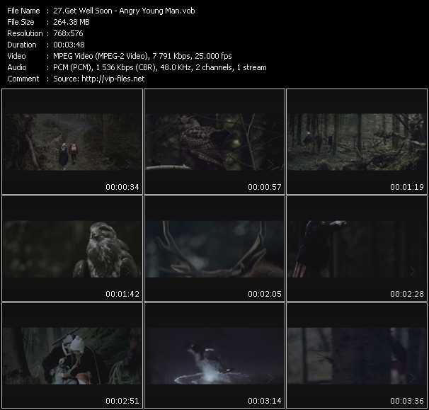 Get Well Soon video screenshot