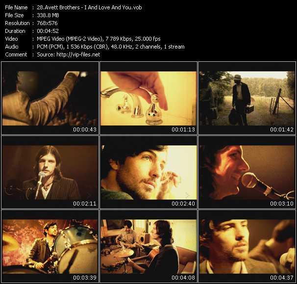 Avett Brothers video screenshot