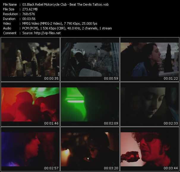 Black Rebel Motorcycle Club video screenshot