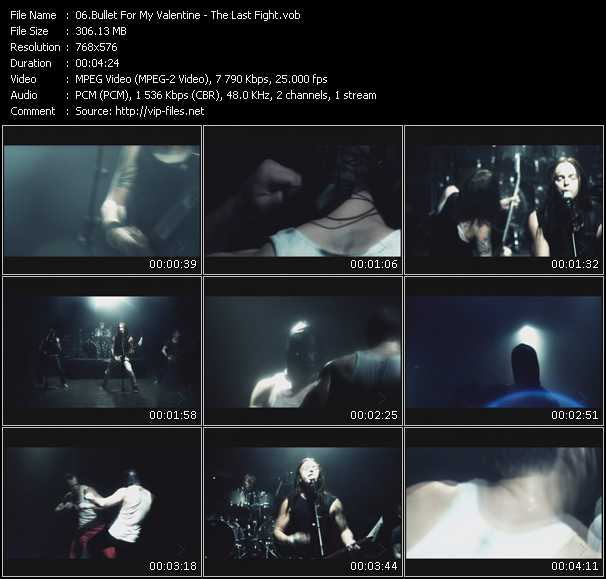 Bullet For My Valentine video screenshot
