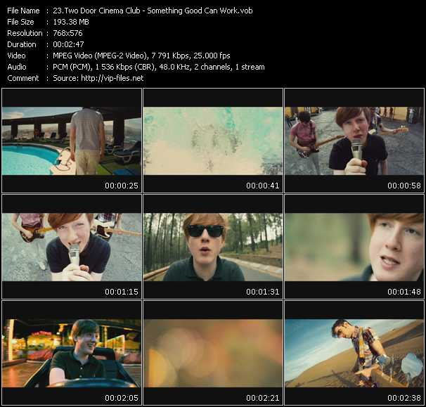 Two Door Cinema Club video screenshot