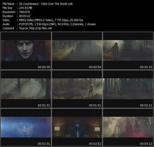Courteneers video screenshot