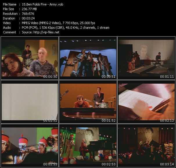 Ben Folds Five video screenshot