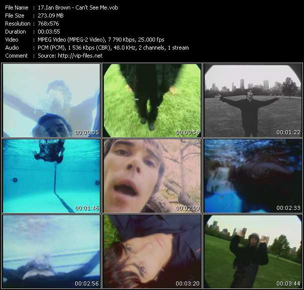 Ian Brown video screenshot