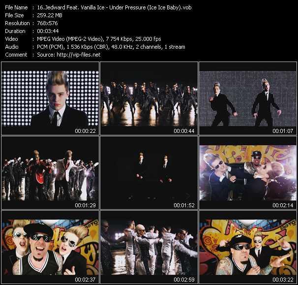 Jedward Feat. Vanilla Ice video screenshot